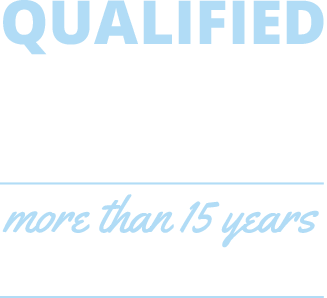 Qualified Engineering Services - more than 15 years of specific experiences.